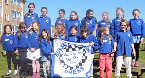Sussex Junior Chess Epsca U11 Girls Championships